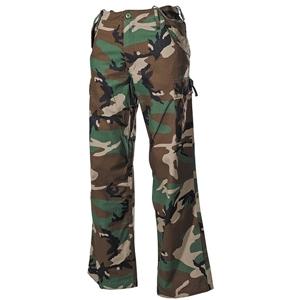 Kalhoty US M65 rip-stop seprané WOODLAND