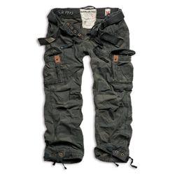 Kalhoty PREMIUM VINTAGE BLACK CAMO nadm�rn� velikost