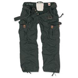 Kalhoty PREMIUM VINTAGE �ERN� nadm�rn� velikost