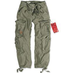 Kalhoty AIRBORNE VINTAGE ZELEN� nadm�rn� velikost