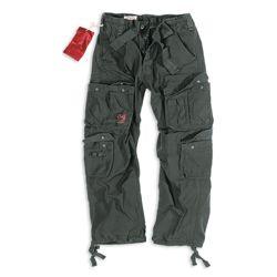 Kalhoty AIRBORNE VINTAGE �ERN� nadm�rn� velikost