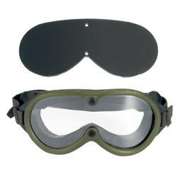 Brýle taktické US M44 2 skla v krabièce ZELENÉ