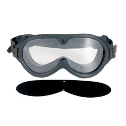 Brýle taktické US M44 2 skla v krabièce ÈERNÉ