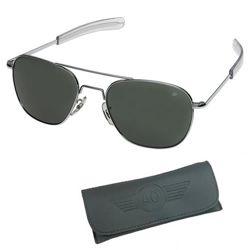Brýle pilotní US AIR FORCE originál 57mm CHROME