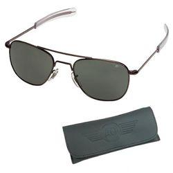 Brýle pilotní US AIR FORCE originál 52mm polarizované ÈERNÉ