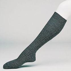 Ponožky podkolenky BW zimní ŠEDÉ