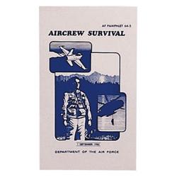 Manuál US AIR FORCE SURVIVAL 122 stran