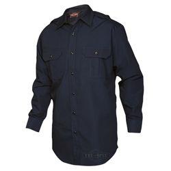 Košile TRU dlouhý rukáv rip-stop MODRÁ