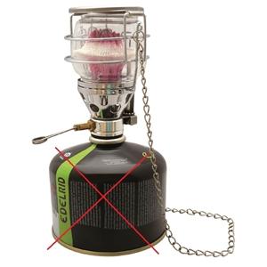 Lampa plynová pro šroubovací kartuše