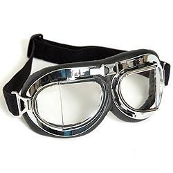 Brýle typ RAF pilotní CHROM