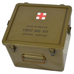 Box US original FIRST AID vodotìsný 24 x 25 x 19 cm