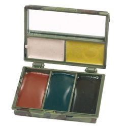 Barvy maskovací KRABIÈKA 5 barev se zrcátkem