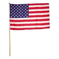 Vlajka na tyèce USA