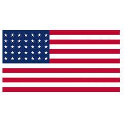 Vlajka USA 48 hvìzd