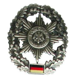 Odznak BW na baret Feldjägertruppe