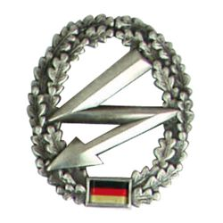 Odznak BW na baret Fernmeldetruppe