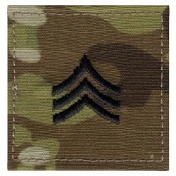 Nášivka hodnostní Sergeant VELCRO MULTICAM®