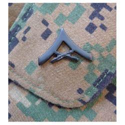 Odznak hodnostní USMC - LCpl. - ÈERNÝ