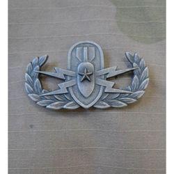 Odznak US EXPLOSIVE ORDANCE DISPOSAL - Senior - STØÍBRNÝ