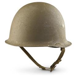 Helma francouzská M-51 laminát.futro ZELENÁ orig.použ.