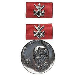 Medaile vyznamenání GST  E.SCHNELLER  STØÍBRNÁ