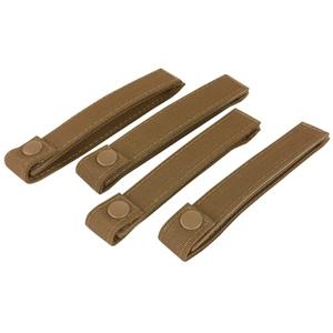 Poutka pro upevnìní výstroje MODULAR 15cm/4ks COYOTE
