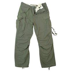 Kalhoty VINTAGE US M65 FIELD ZELENÉ