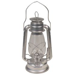 Lampa petrolejová Zinek 30cm STØÍBRNÁ