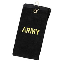 doprodej Ruèník malý 40x57cm s nápisem ARMY ÈERNÝ