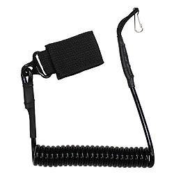 Kabel (telefonní) bezpeènostní ke zbrani ÈERNÝ