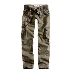 Kalhoty dámské PREMIUM SLIMMY WOODLAND