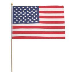 Vlajka USA døevìná tyèka 30 x 45cm