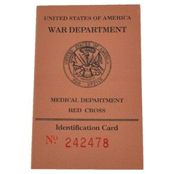 Prùkaz US WAR DEPARTMENT MEDICAL
