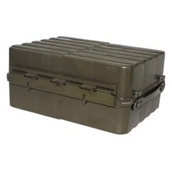 Transportní box NORSKÝ dvoudílný plast ZELENÝ