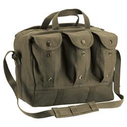 Taška na zdravotní vybavení 28 x 23 x 15 cm ZELENÁ