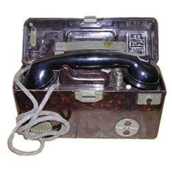 Telefon polní TP-25 AÈR kompletní