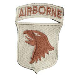 Nášivka 101st AIRBORNE DIVISION PÍSKOVÁ