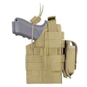 Pouzdro pistolové MOLLE glock  oboustranné TAN