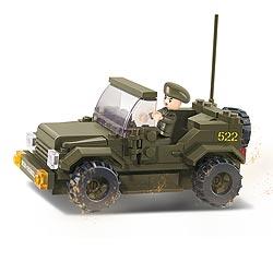 Stavebnice ARMY JEEP hlídkový