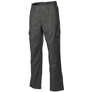 Kalhoty BW moleskin ZELENÉ