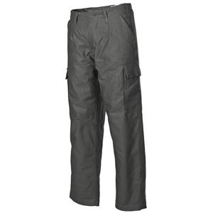 Kalhoty BW moleskin zateplené ZELENÉ