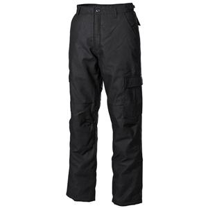 Kalhoty US MA1 zateplené ÈERNÉ