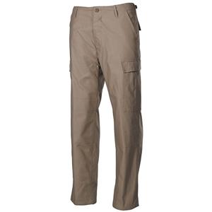 Kalhoty US støih BDU prošité PÍSKOVÉ