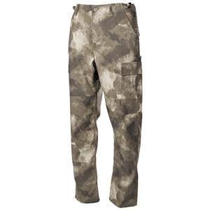 Kalhoty US BDU rip-stop HDT CAMO