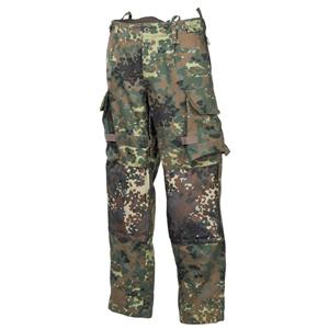 Kalhoty taktické COMBAT rip-stop FLECKTARN