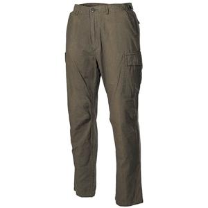 Kalhoty US VIETNAM rip-stop seprané ZELENÉ