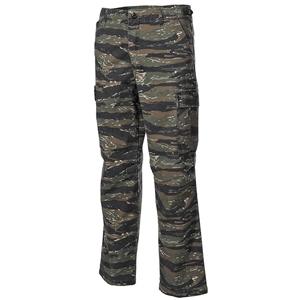 Kalhoty US VIETNAM rip-stop seprané TIGER STRIPE CAMO