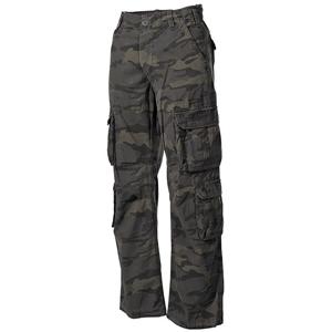 Kalhoty VINTAGE DEFENSE seprané COMBAT CAMO
