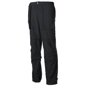 Kalhoty odepínací MICROFASER ÈERNÉ