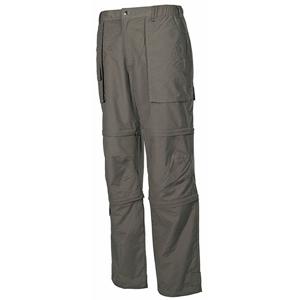 Kalhoty odepínací MICROFASER ZELENÉ